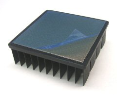 Heat Sink with pre-applied tape