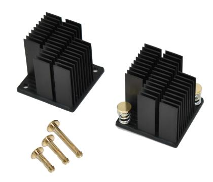 new 2.5mm diameter pushpin and heat sink