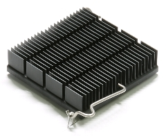 Heat sink with Z-Clip